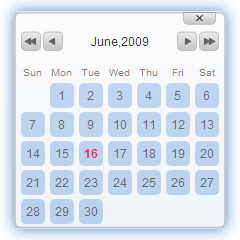 Javascript Date Picker