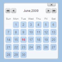 Javascript Calendar.Free Javascript Date Picker Popup Date Picker For Websites And Web